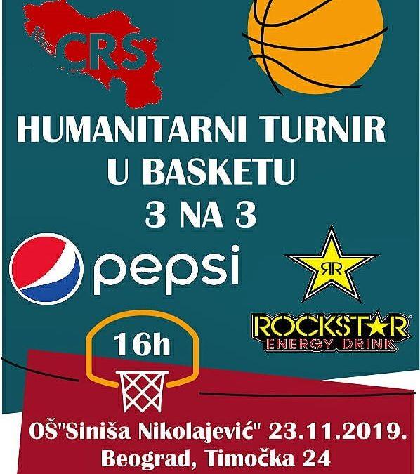 "Humanitarni turnir u basketu 3 na 3 u OŠ ""NH Siniša Nikolajević"""